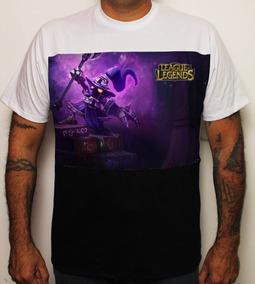Camiseta Game League Of Legends Veigar Cor Lol 100% Algodão