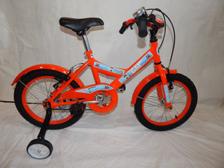 Bicicleta Rodado 16 Gm 19050 Varon Paseo Halley Niños Gm