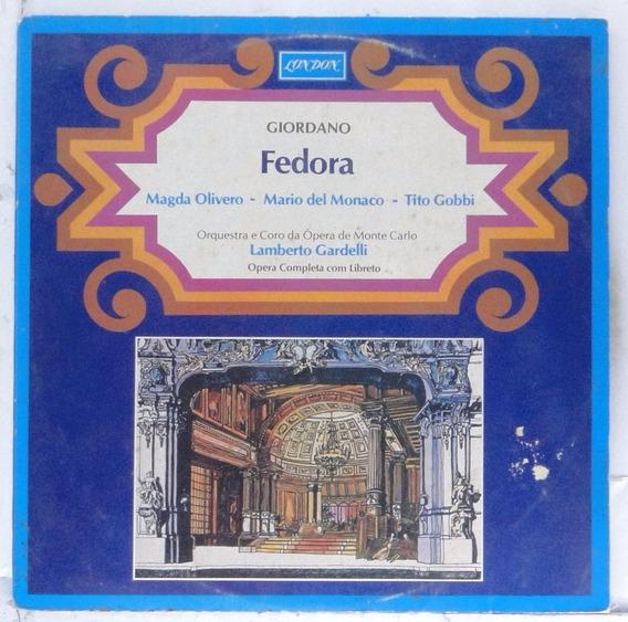 Lp Giorrdano Colautti - Fedora - Disco Raro - Ad019