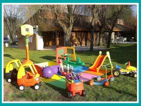 Alquiler Plaza Blanda Inflables Mini Living Tejo Metegol