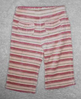 Old Navy Pantalón De Pants Tipo Velour Rayas 6-12 Meses
