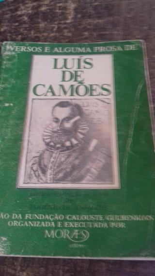 Luis De Camões, Versos E Alguma Prosa - 160 Páginas