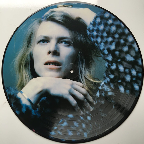 David Bowie - Hunky Dory - Lp Picture Disc Novo