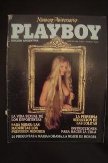 Revista Play Boy Numero Aniversario 1986 Cat Adulto
