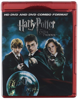 Harry Pootter And The Order Of The Phoenix Hd Dvd & Dvd Usa
