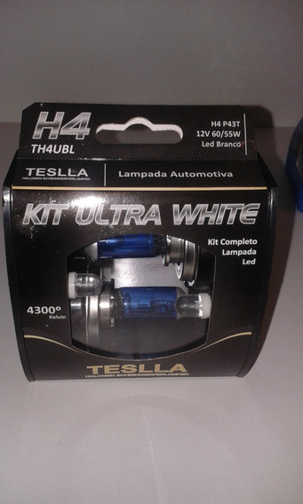 Kit Lâmpada Led Automotiva Ultra White