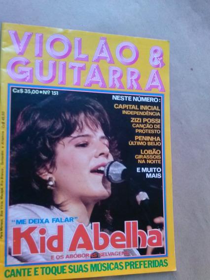 Revista - Violão & Guitarra 151 - Kid Abelha