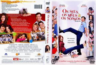 Filme Dvd Original Usado Os Seus, Os Meus E Os Nossos