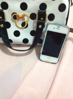 iPhone 4s 64gb Com Caixa,fone E Carregador E Duas Capinhas