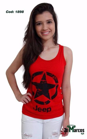 Camisa Feminina Regata Jeep!