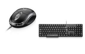 Kit 5 Mouses Mo179 E 5 Teclados Tc213 Multilaser