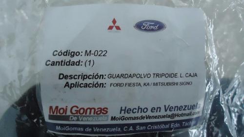 Kit Goma Tripoide Lado Caja Fiesta Ford Ka Signo M-022 Rd