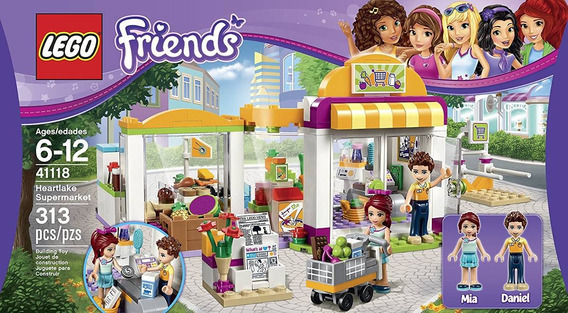 Lego Friends 41118 Supermercado De Heartlake 313 Pzs