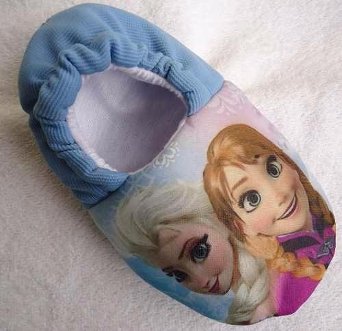 Pantufa Olaf Frozen Anna E Elsa * Sob Encomenda