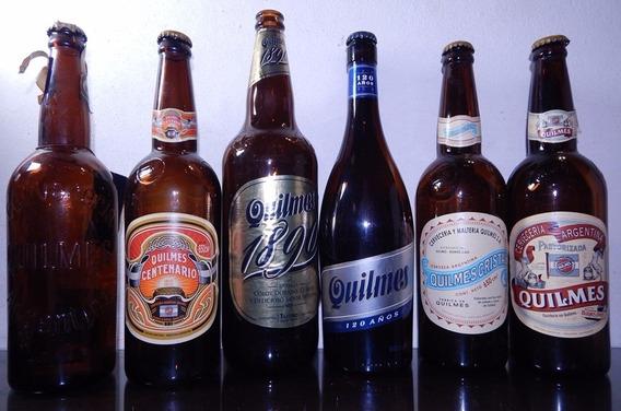 6 Botellas De Quilmes Edición Limitada Aniversario