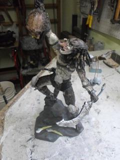 Depredador - Predator - Escultura, Copias A Pedido