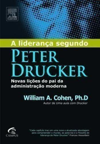 Livro A Liderança Segundo Peter Drucker William A. Cohen