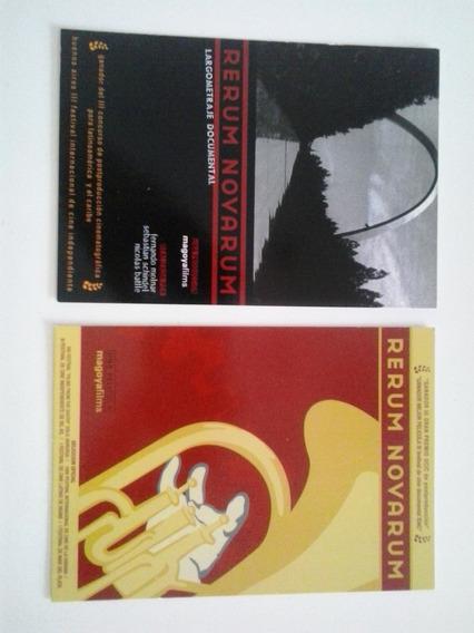 Postales Publicitarias Fines 90 /2000 Perum Novarum