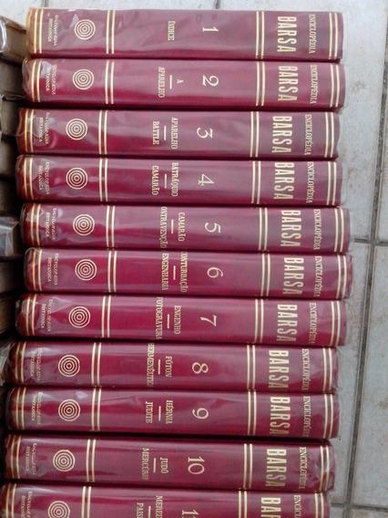 Coleçao Enciclopedia Barsa 16 Volumes + 18 Livros Do Ano