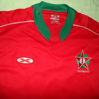 Camisa Pro-x Ituiutaba-mg Usada Em Jogo Da Série C 2010 #5