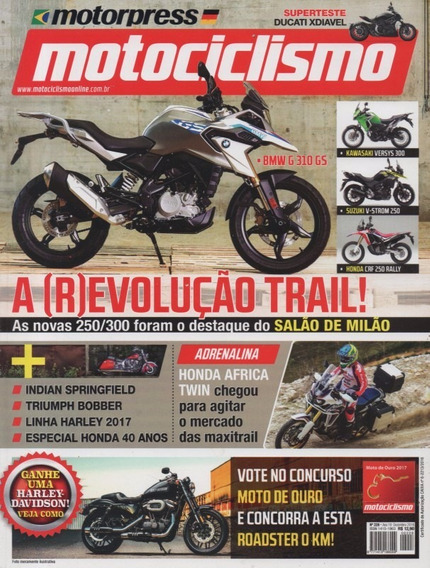 Motociclismo N°228 Ducati Xdiavel Honda Africa Twin Bobber