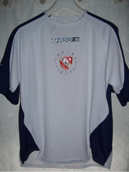 Independiente Remera Topper Salida 2002 Talle M 15 Estrellas