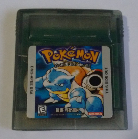 Pokemon Blue Para Game Boy