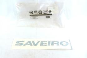 W463 Adesivo Emblema Saveiro Preto Novo 5u7853415 //