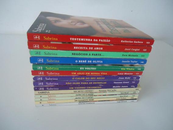Romances Sabrina - Vários - Preço Por Livro