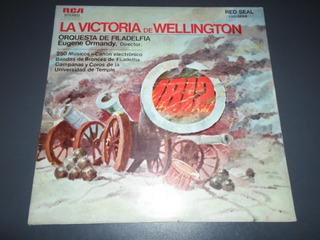 La Victoria De Wellington Ormandy Beethoven Tchaikovsky * Lp