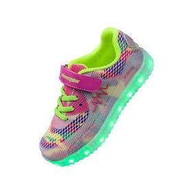 Tenis Led Shinmax Led Kid Shoes, Led Sneakers Sport
