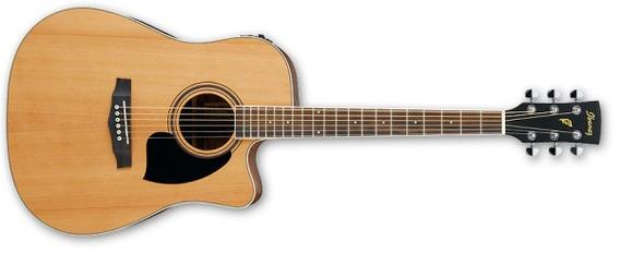 Guitarra Electroacustica Ibanez Pf17ece LG C/eq