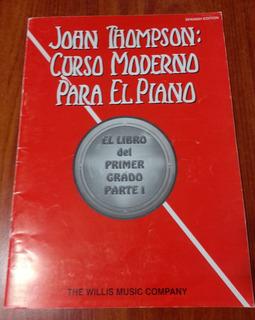 Metodo De Piano De Jhon Thompson Teclado Ii