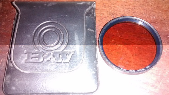 558 - Filtro 52 Mm 2x Kr 12 B+w Original Câmeras R$ 200,00
