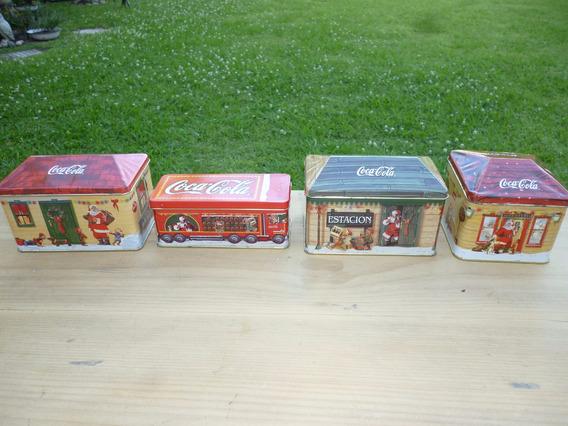 Lata Caja Vela Aromatica Colección Coca Cola Navidad Sin Uso