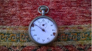 Antiguo Reloj Cronometro Junghans No Funciona