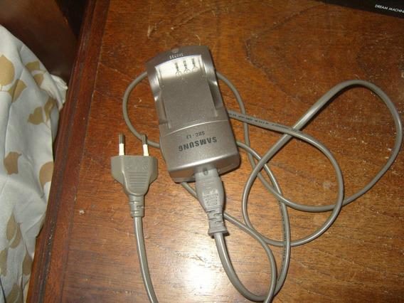 Carregador E Bateria Originais Samsung Maq. Fotografica