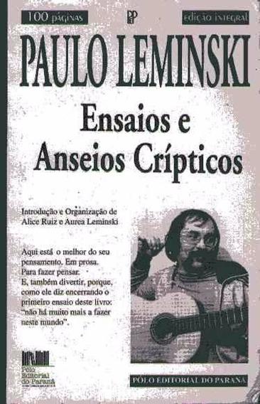 Ensaios E Anseios Crípticos Paulo Leminski - Frete Grátis