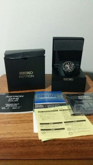Relógio Seiko Astron Solar Gps, Original, Pronta Entrega.