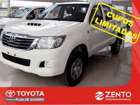 Nueva Toyota Hilux Dx Pack 2.5 Plan 70/30 Sin Interes Zento