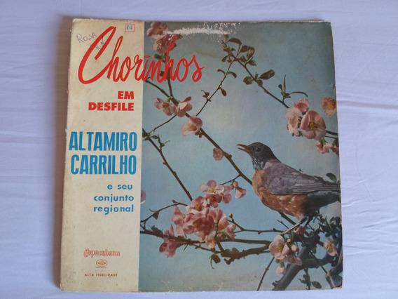Lp - Altamiro Carrilho - Chorinhos Em Desfile (1959)
