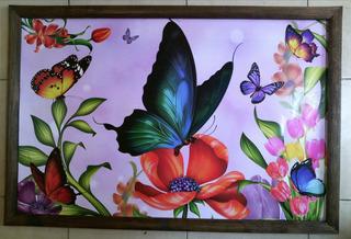 Cuadro Grande Nuevo Mariposas