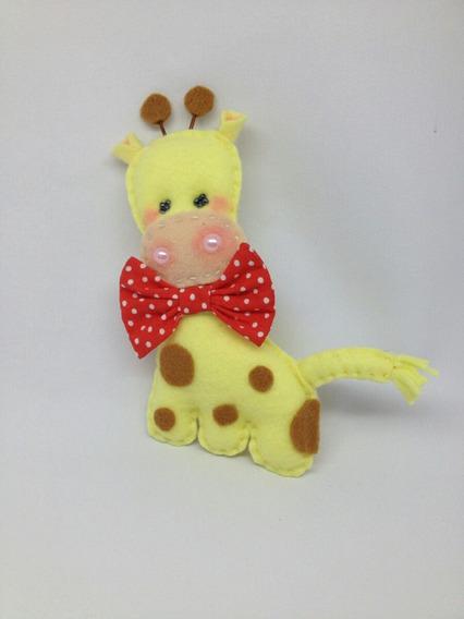 Lembranchinhas Aniversário Safari Girafa (10cm) 10un