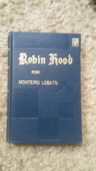 Livro Montero Lobato Robin Hood