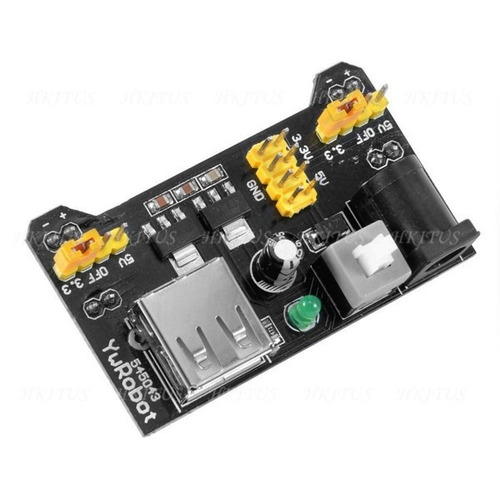 Imagem 1 de 1 de Shield Arduino | Módulo Fonte Alimentação 3,3v+5v X 600ma