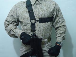 Porta Fusil Tactico Tres Puntos E.l.i.t.e Mod. Triple X