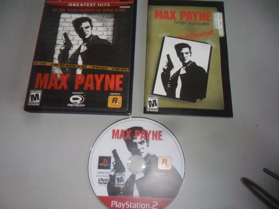Max Payne Original Completo P/ Ps2 Playstation 2