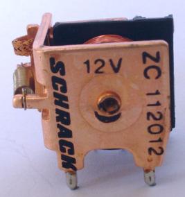 5 Reles Schrack 1 Contato Reversível Zc 112012 5 Unidades