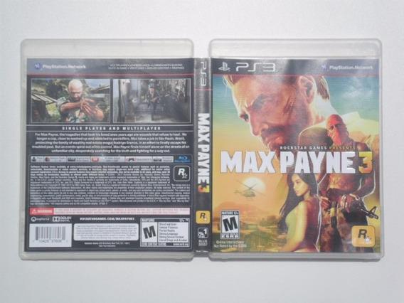 Frete Grátis Max Payne 3 Jogo De Ps3 (dvd)