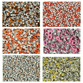 Ojalillos Eyelets 1/8 Scrapbook Crop A Dile 5mm Ext 2mm Int